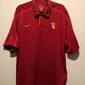 Men's USC Trojans Nike Performance Polo XL